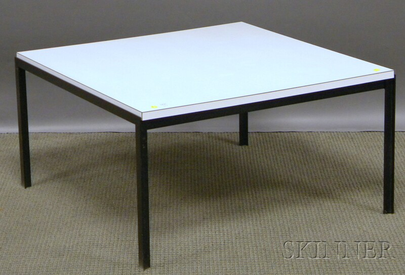 Knoll Associates Florence Knoll Formica And Steel Coffee
