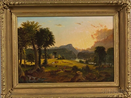 jasper f cropsey s american harvesting Start studying american arts/american identities exam 1  jasper cropsey american harvesting, 1851.
