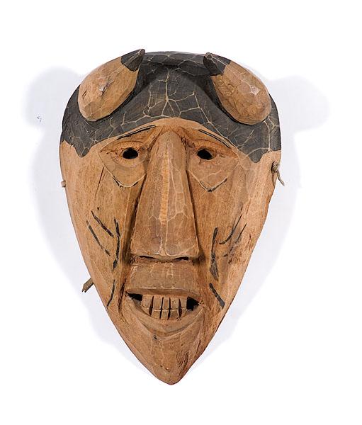 Allen Long Cherokee Booger Mask | Bidsquare