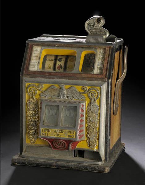 Jennings 25 Cent Chief Slot Machine Bidsquare