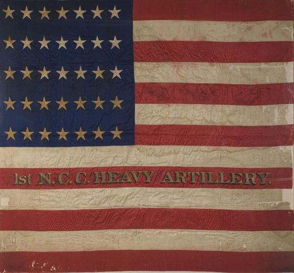 North Carolina Civil War Flag Rare Civil War Battle Flag of