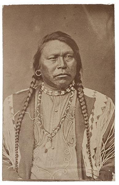 Byron H. Gurnsey CDV of Ouray (Arrow), Head Chief of the ...