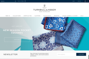 Turnbull & Asser homepage template (well, part of it)