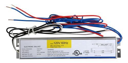 Ballast Replacement T5 HO 2 x 54 Watt - 120 Volt