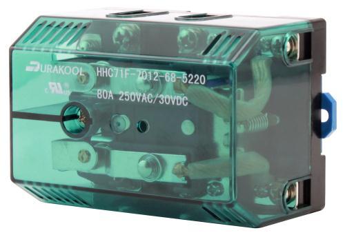 Durakool DPDT 80 A 240 V Coil Relay (20/Cs)
