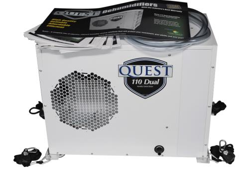 Quest Dehumidifier Display Rack