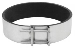 Ideal-Air Noise Reduction Clamp 8 in (12/Cs)