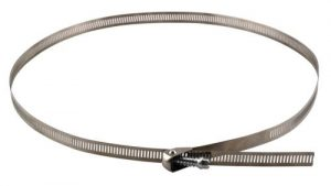 Ideal-Air Quick Release Stainless Steel Hose Clamps 2/Pack 10 in