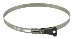 Ideal-Air Butterfly Hose Clamp 2/Pack 8 in (25/Cs)