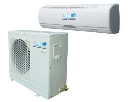 Ideal-Air Mini Split Heat Pump 24,000 BTU 15 SEER - DIY