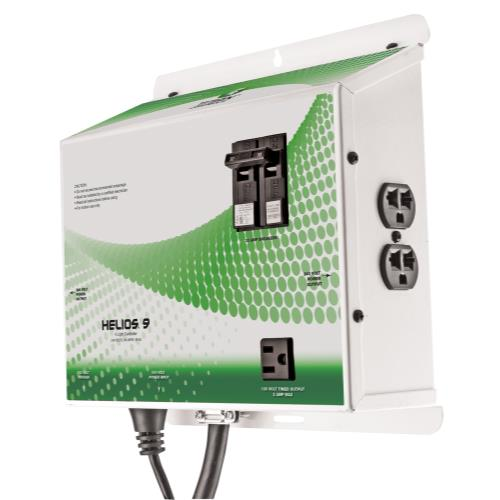 Titan Controls Helios 9 - Pre-Wired 4 Light 240 Volt Controller w/ Trigger Cord & Timer