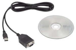 Agrowtek Serial RS-232 (DB9) to USB Converter (FDTI)