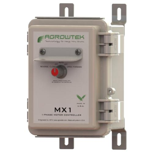 Agrowtek MX1 AC Reversible Motor Controller, Single Phase 120VAC/8A (4/Cs)
