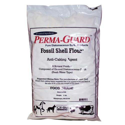 Perma Guard Diatomaceous Earth Fossil Shell Flour Food Grade 2 lb (10/Cs)