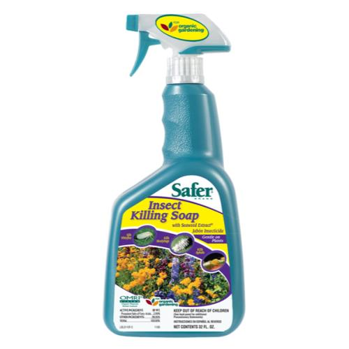 Safer Insect Killing Soap w/ Seaweed Extract II RTU Quart (12/Cs)