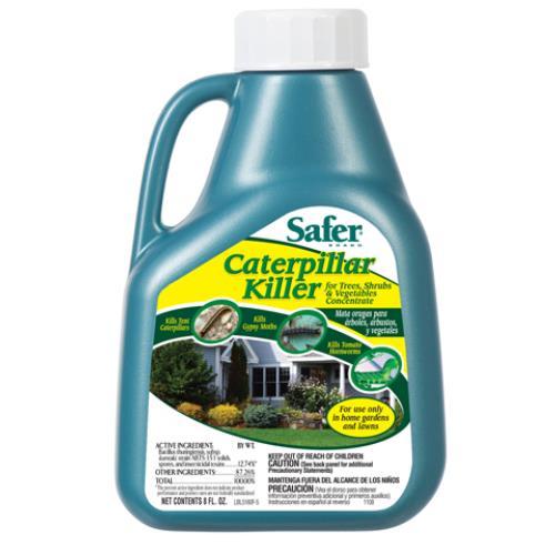 Safer Caterpillar Killer Conc. 16 oz (6/Cs)