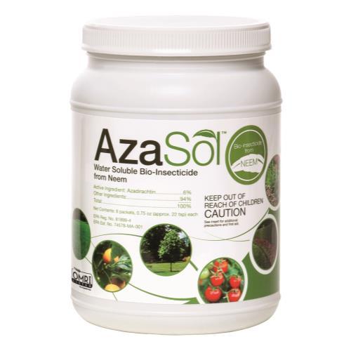 Arborjet Aza Sol Container (4/Cs)