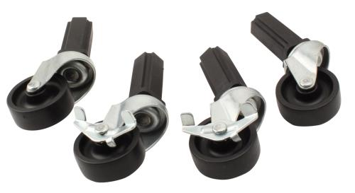 Fast Fit Caster Wheels - 4 pc