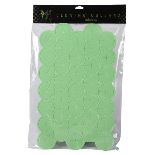 Ez-Clone Colored Cloning Collars Green (35/Bag)