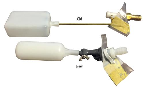 Float Valve w/ Barbed Fitting