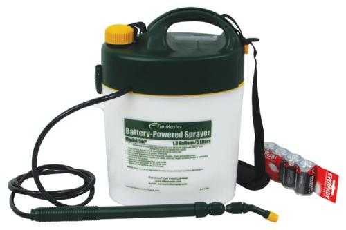 Root Lowell Flo-Master Battery Powered Sprayer 5 Liter/1.3 Gallon