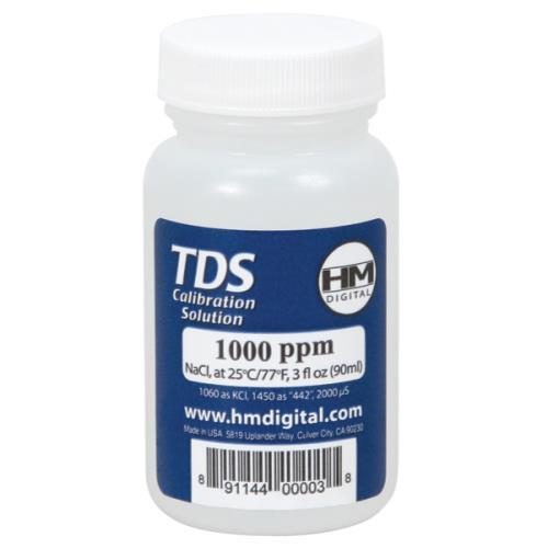 HM Digital 1000 PPM Calibration Solution