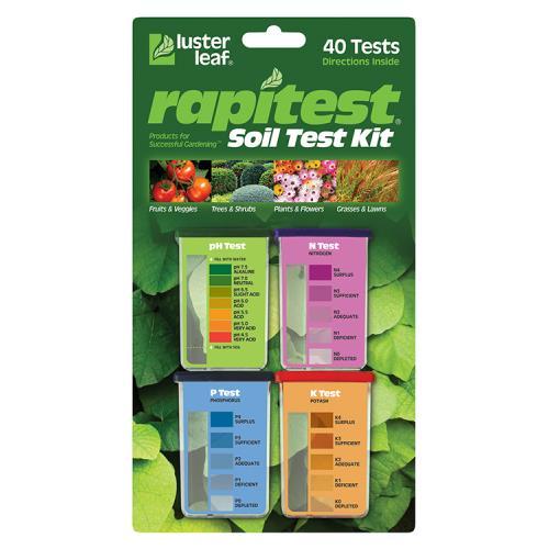 Rapitest Soil Test pH N,P,K (6/Cs)