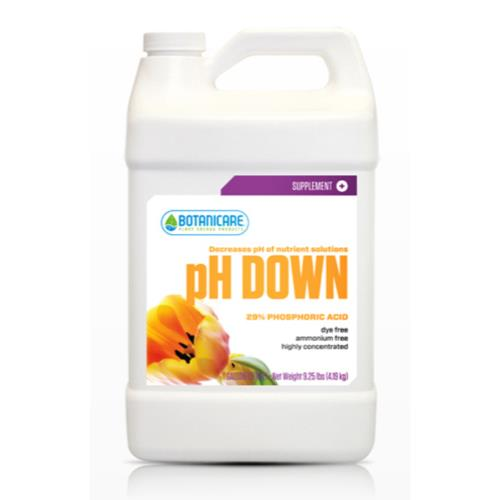 Botanicare pH Down Gallon (4/Cs)