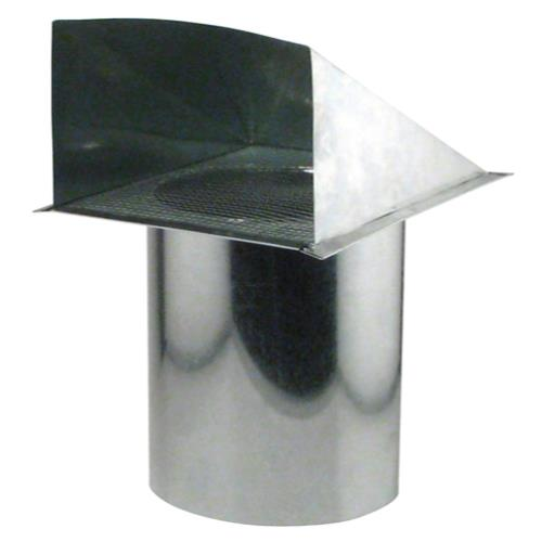Ideal-Air Screened Wall Vent 8 in (4/Cs)