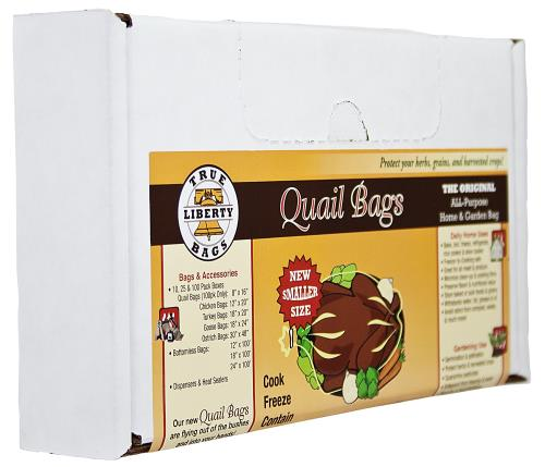 True Liberty Quail Bags 8 in x 16 in (100/Pack)
