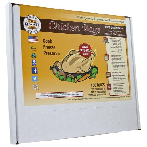 True Liberty Chicken Bags (100/Pack)