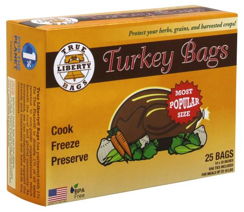 True Liberty Turkey Bags 18 in x 20 in (25/Pack)