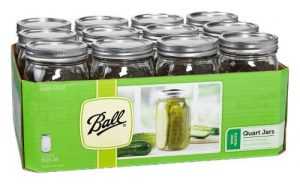 Ball Jars Wide Mouth Quart  (12/Cs)