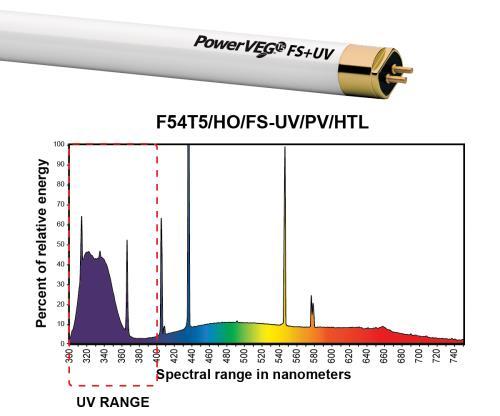 Eye PowerVEG FS-UV 4 ft  54W HO T5 (24/Cs)