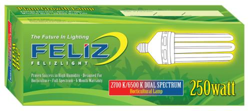 Feliz Dual Spectrum Fluorescent 250 Watt (12/Cs)