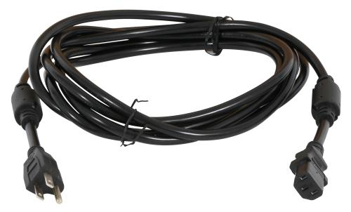120 Volt Smart Volt Cord w/ 2 Molded Ferrites - 12 ft