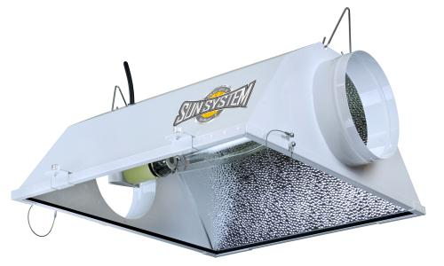 Yield Master 8 in Air-Cooled Reflector (12/Plt)