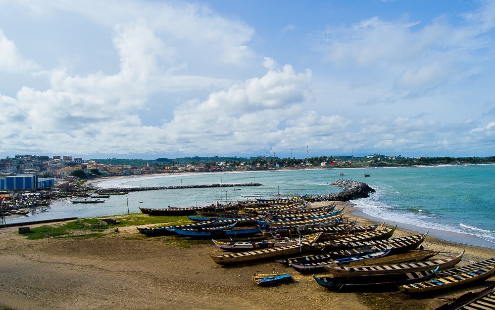 Cape Coast, on the way to Takoradi