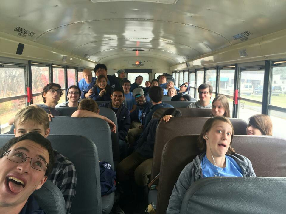 Travelling to away game at Williams