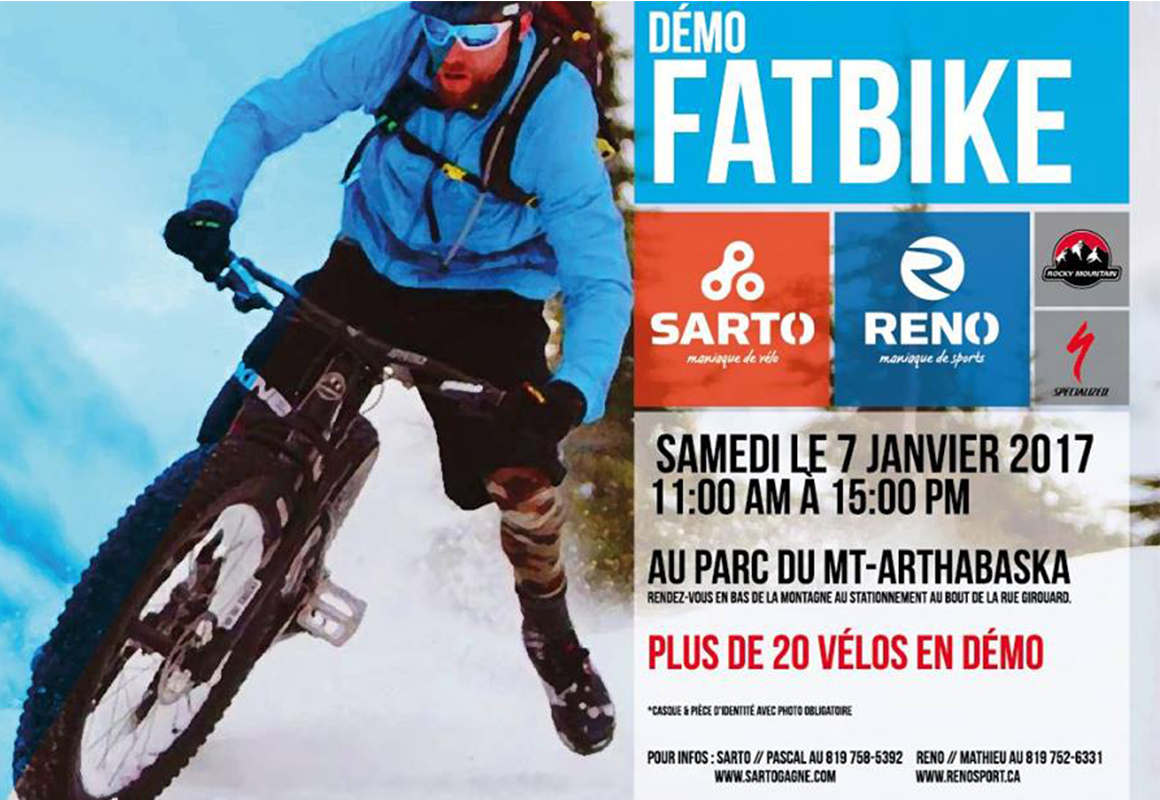 Fatbike Demo In Victoriaville Cycling News Bikenation Ca