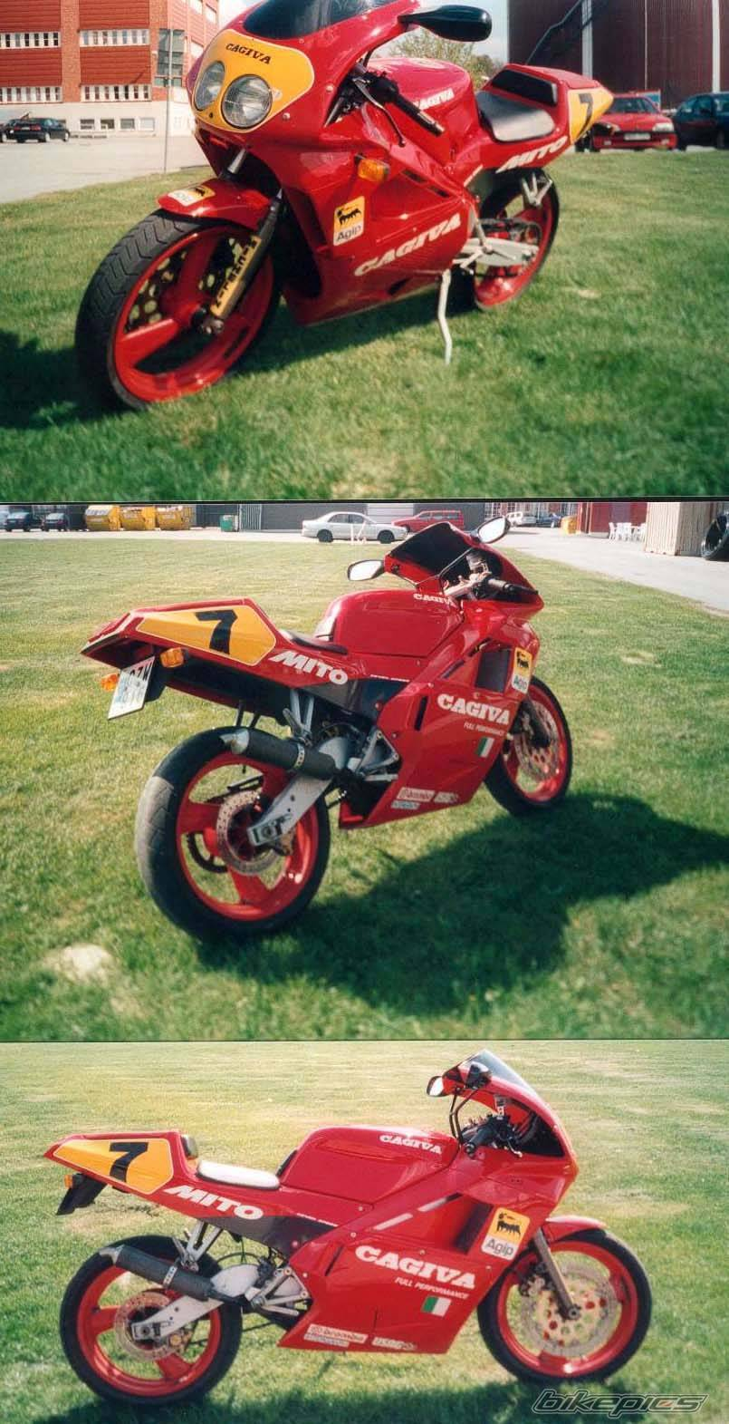 1992 CAGIVA MITO 125 | Picture 8033 motorcycle photo