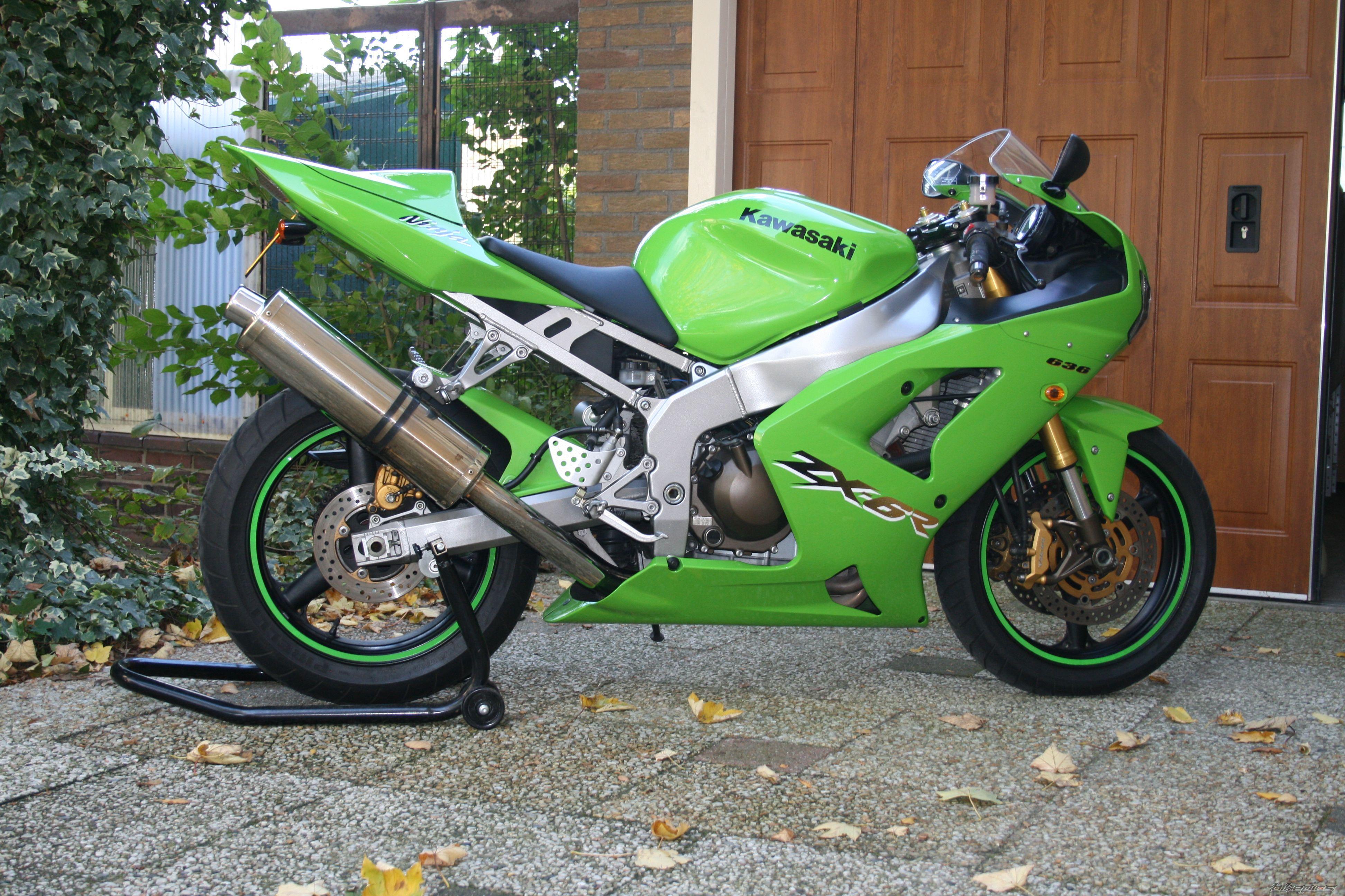 2003 Kawasaki ZX-6R Photos, Informations, Articles - Bikes