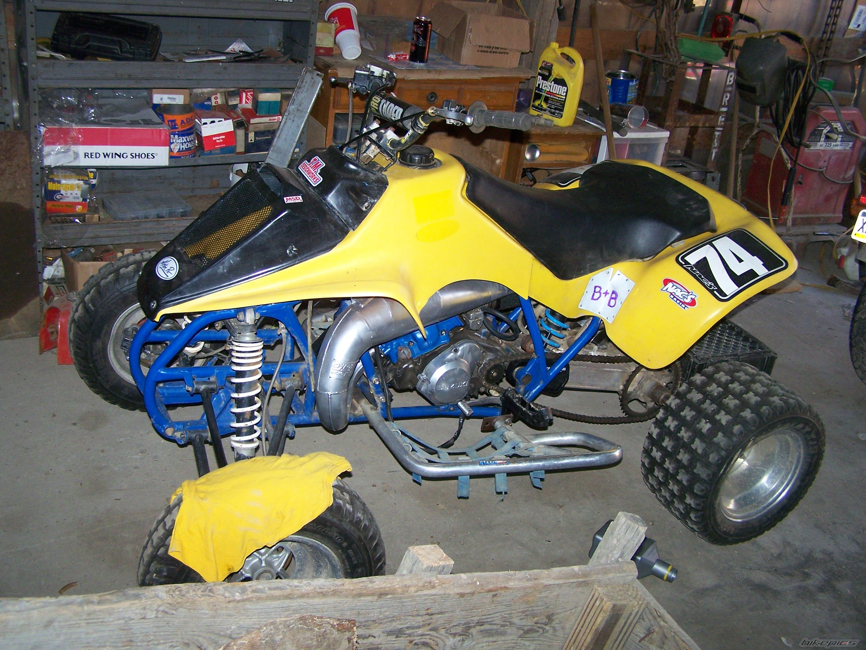 1987 SUZUKI QUADRACER 250 | Picture 1460246 motorcycle photo