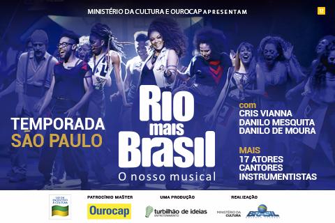 'RIO MAIS BRASIL, O NOSSO MUSICAL'