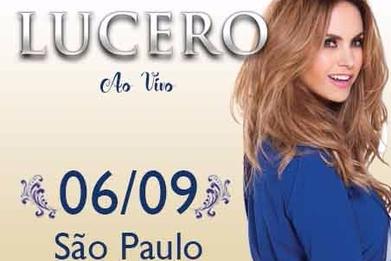 Lucero ao vivo em São Paulo