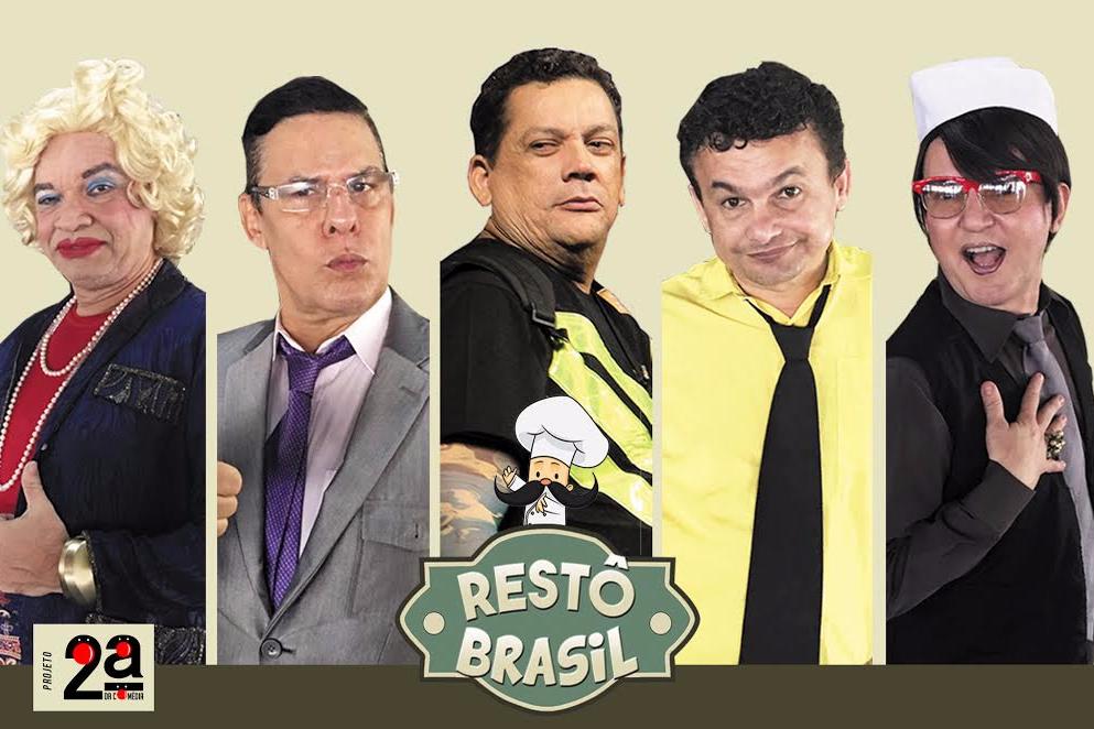 SEGUNDA DA COMÉDIA - RESTÔ BRASIL