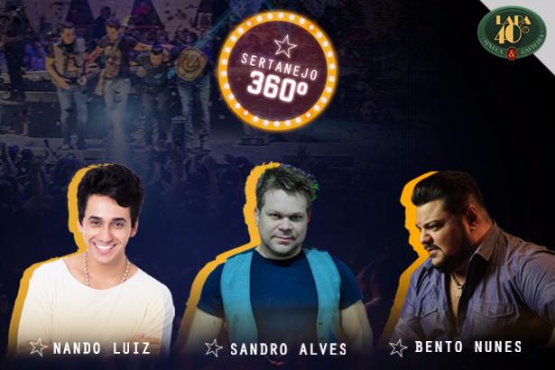 Baile do Carlinhos + Sertanejo 360º