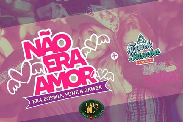 Funk Samba Club + Não Era Amor