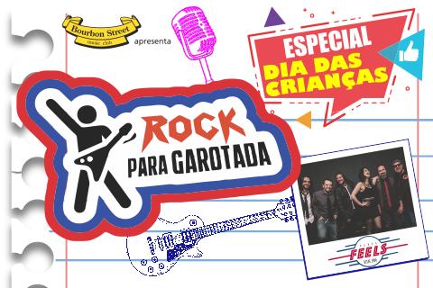 ROCK PARA GAROTADA – ESPECIAL DIA DAS CRIANÇAS
