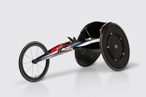 Built for speed: The BMW racing wheelchair 1
